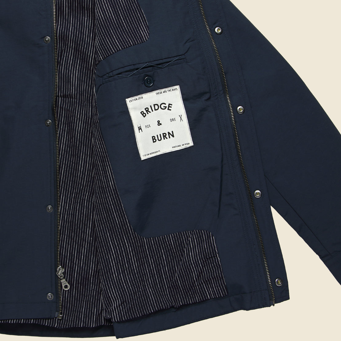 Rowland Jacket - Navy