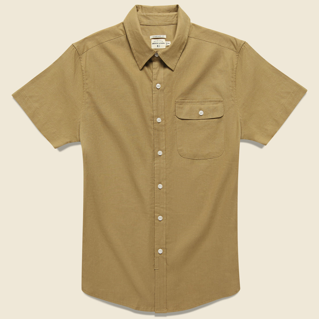 Bridge & Burn Marten Shirt - Camel