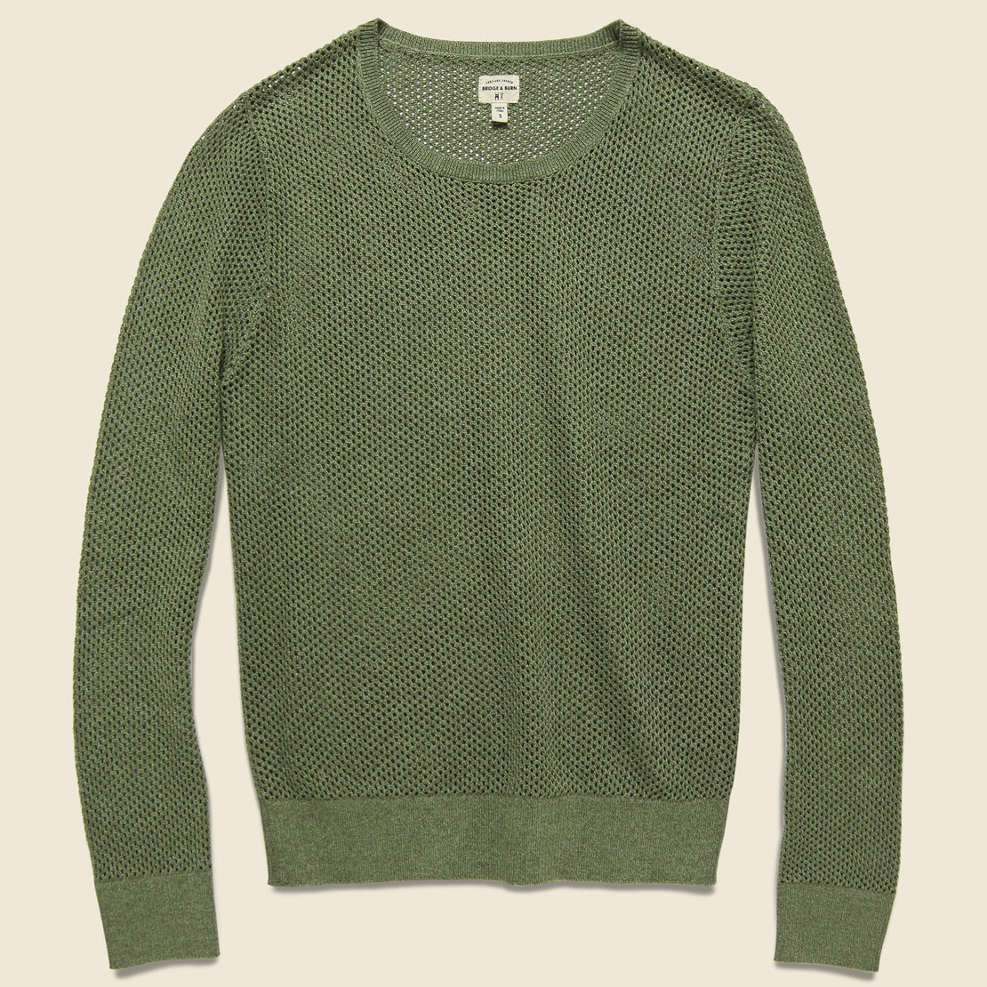 Bridge & Burn Josephine Knit Top - Olive Heather