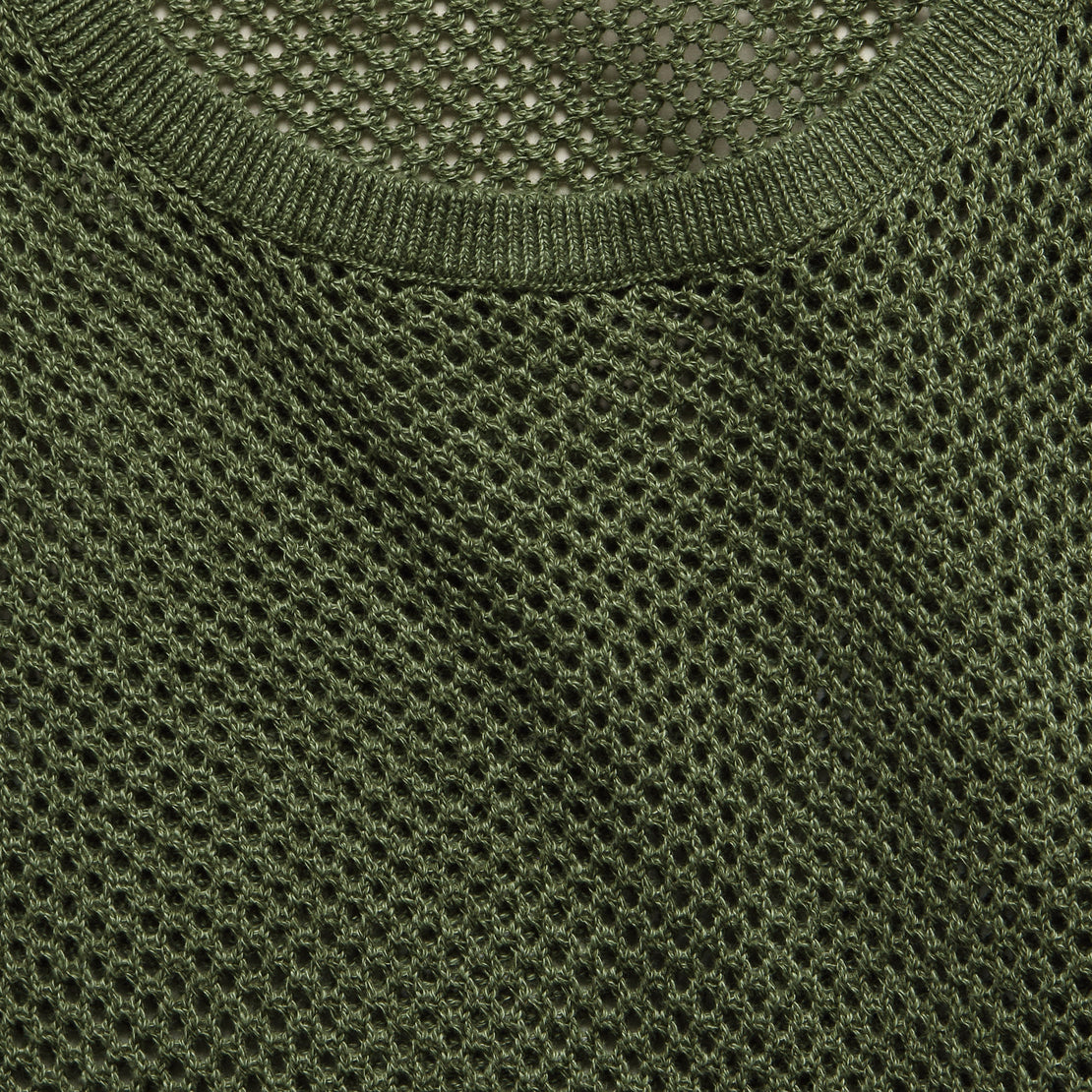 Josephine Knit Top - Olive Heather