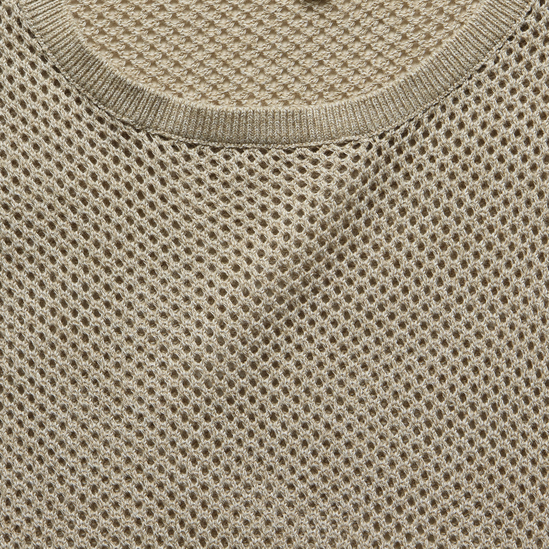 Josephine Knit Top - Oatmeal Heather
