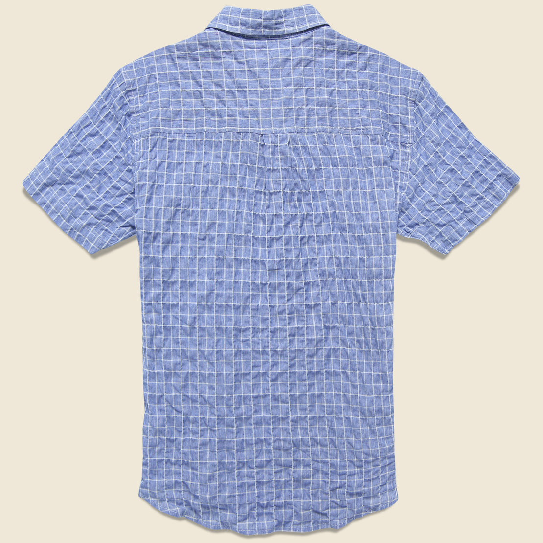 Harbor Shirt - Blue Windowpane