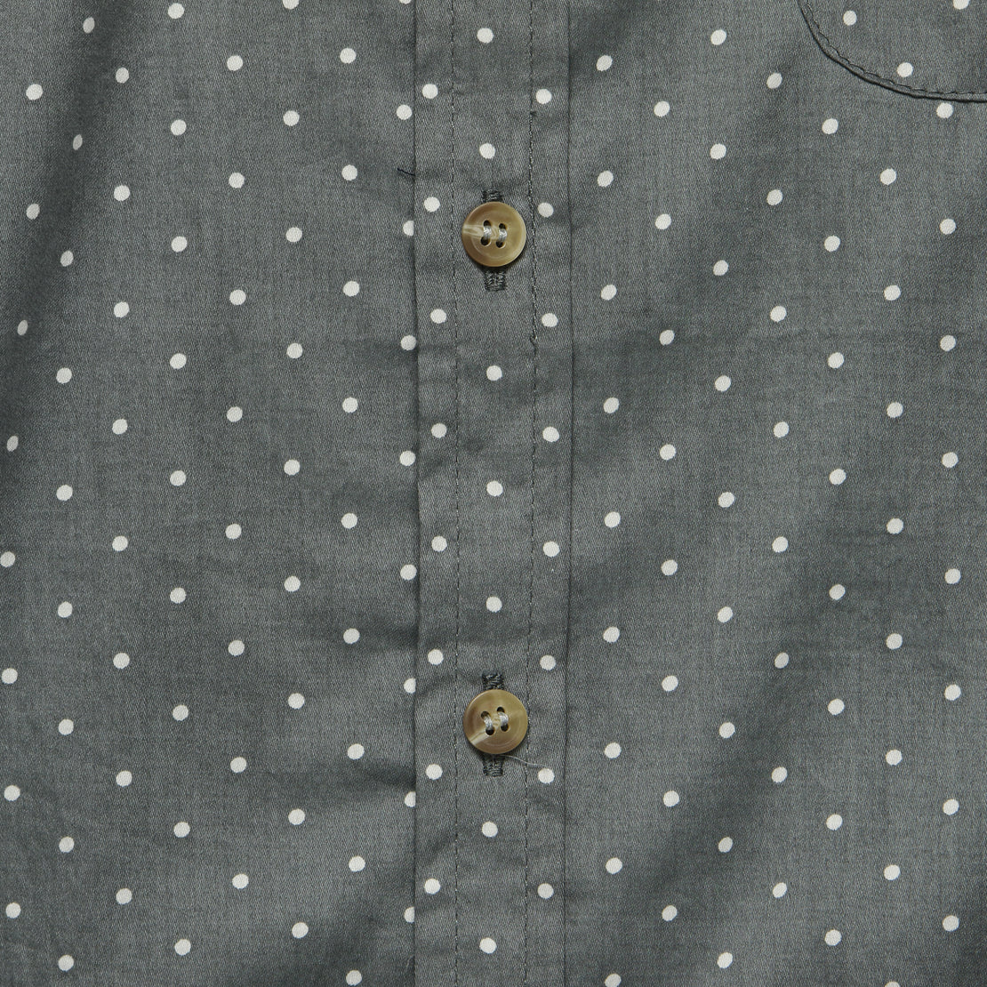 Jackson Polka Dot Shirt - Grey