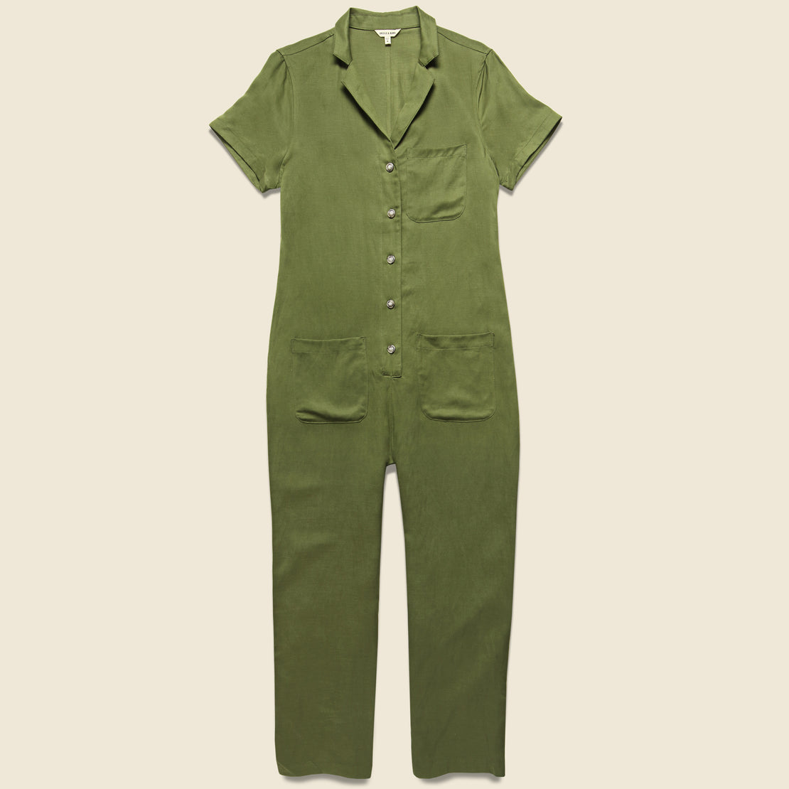 Bridge & Burn Flynn Jumpsuit - Olive
