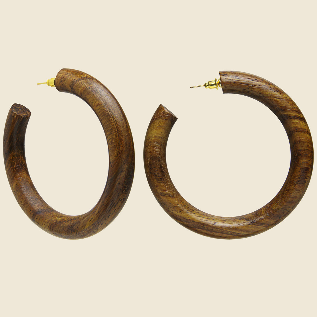 Margaux Hoop - Walnut
