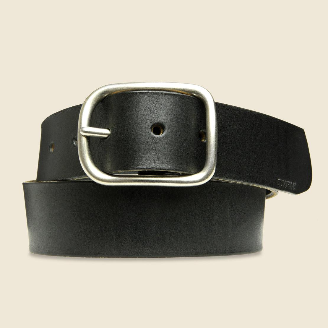 BILLYKIRK Center Bar Belt - Black