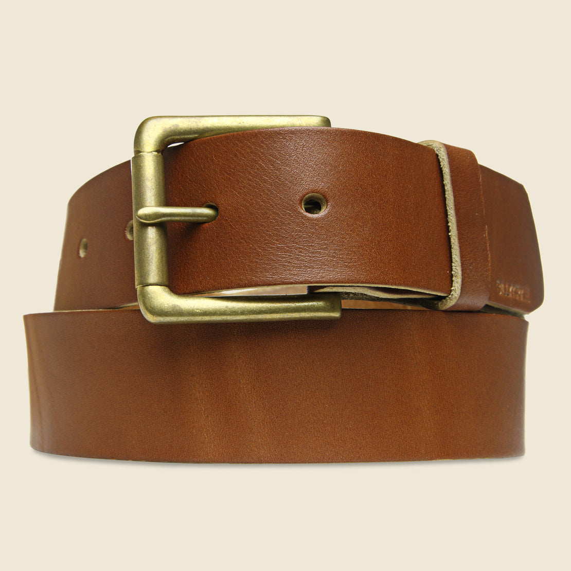 BILLYKIRK Roller Bar Belt - Tan