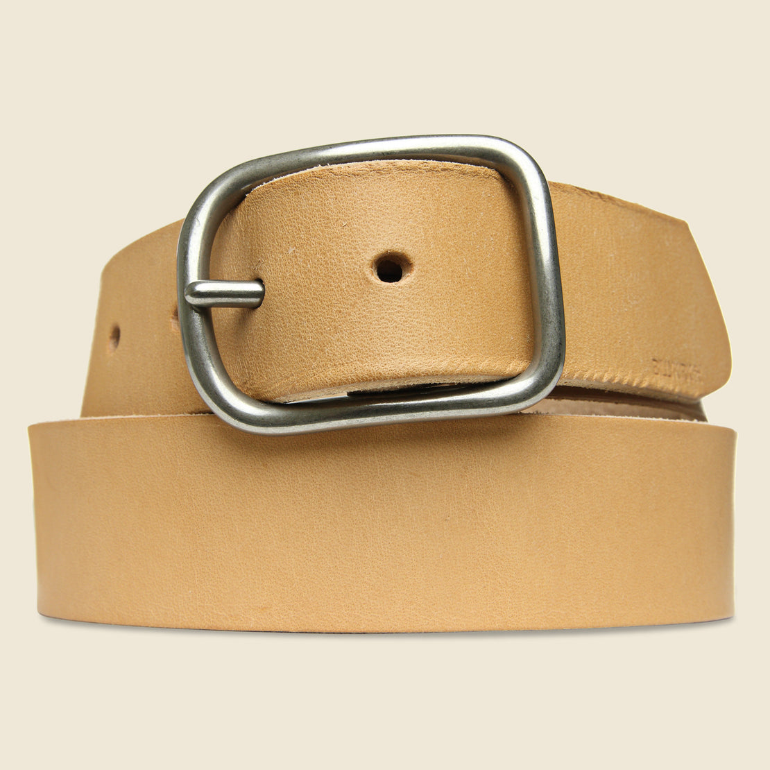 BILLYKIRK Center Bar Belt - Natural