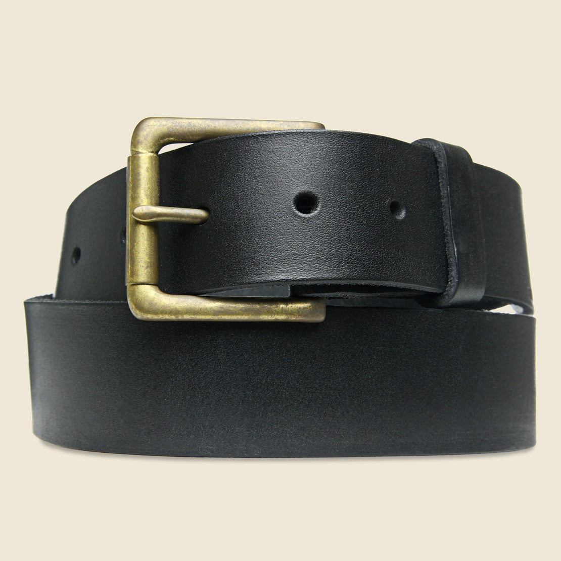 BILLYKIRK Roller Bar Belt - Black