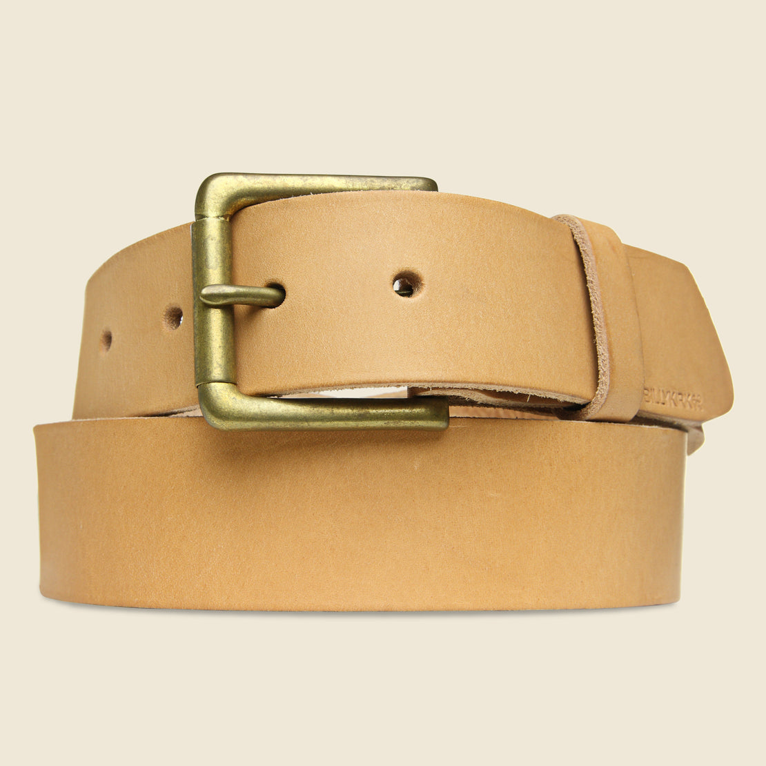 BILLYKIRK Roller Bar Belt - Natural