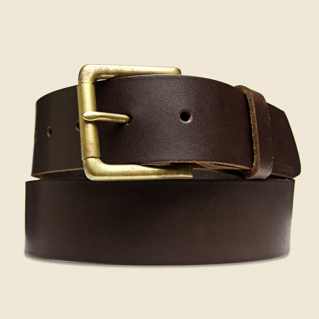 BILLYKIRK Roller Bar Belt - Brown