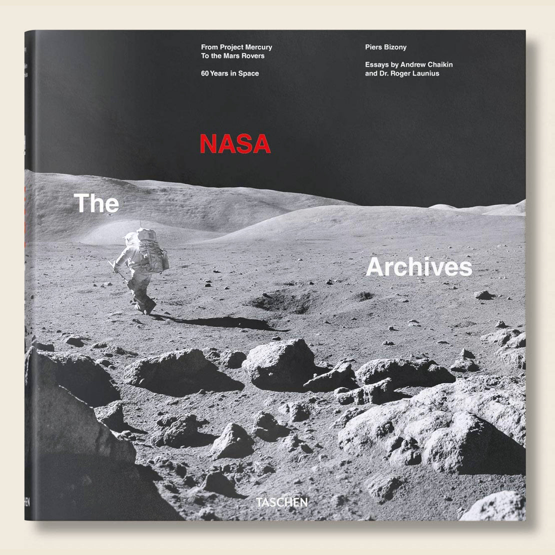 Bookstore The NASA Archives: 60 Years in Space - Piers Bizony
