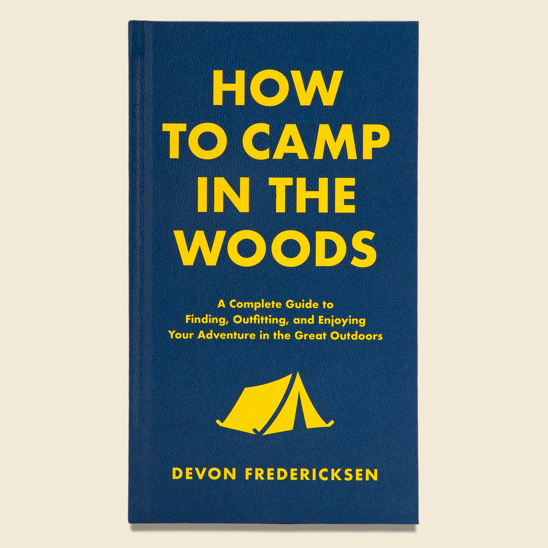 Bookstore How to Camp in the Woods - Devon Fredericksen