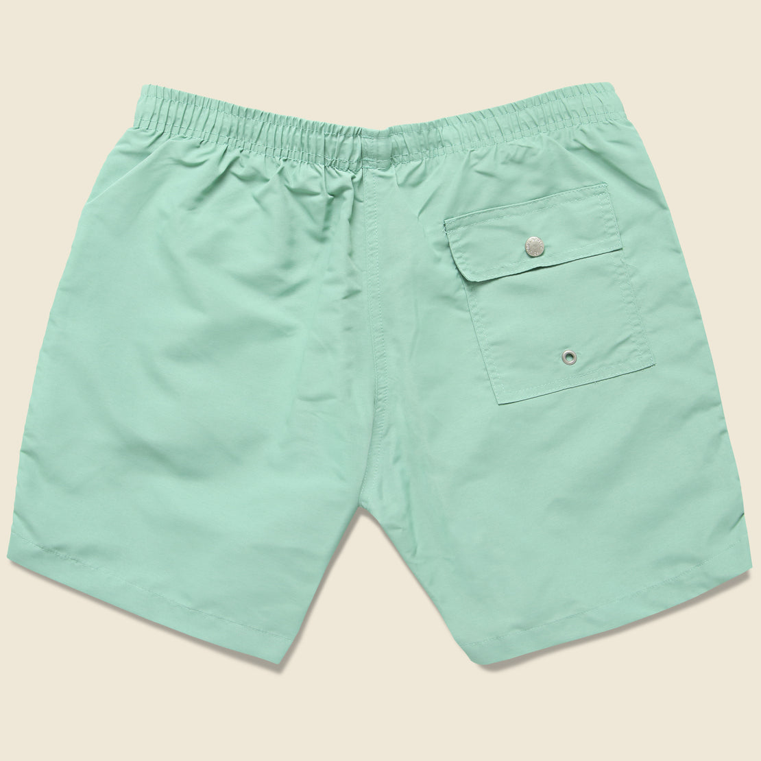 Solid Swim Trunk - Sea Foam