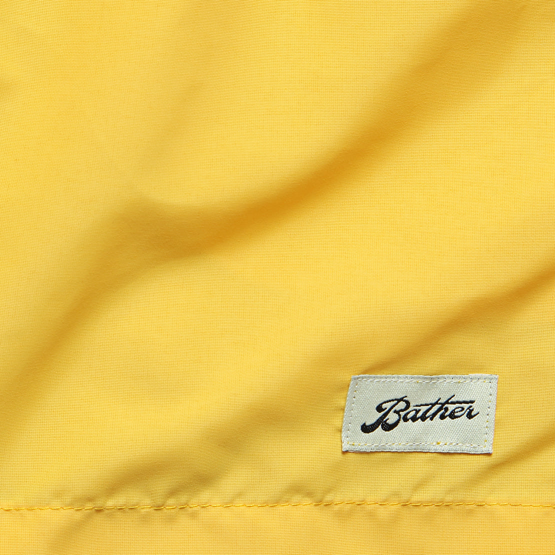 Solid Swim Trunk - Yellow