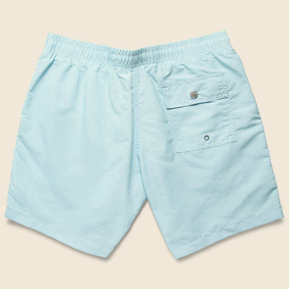 Solid Swim Trunk - Baby Blue