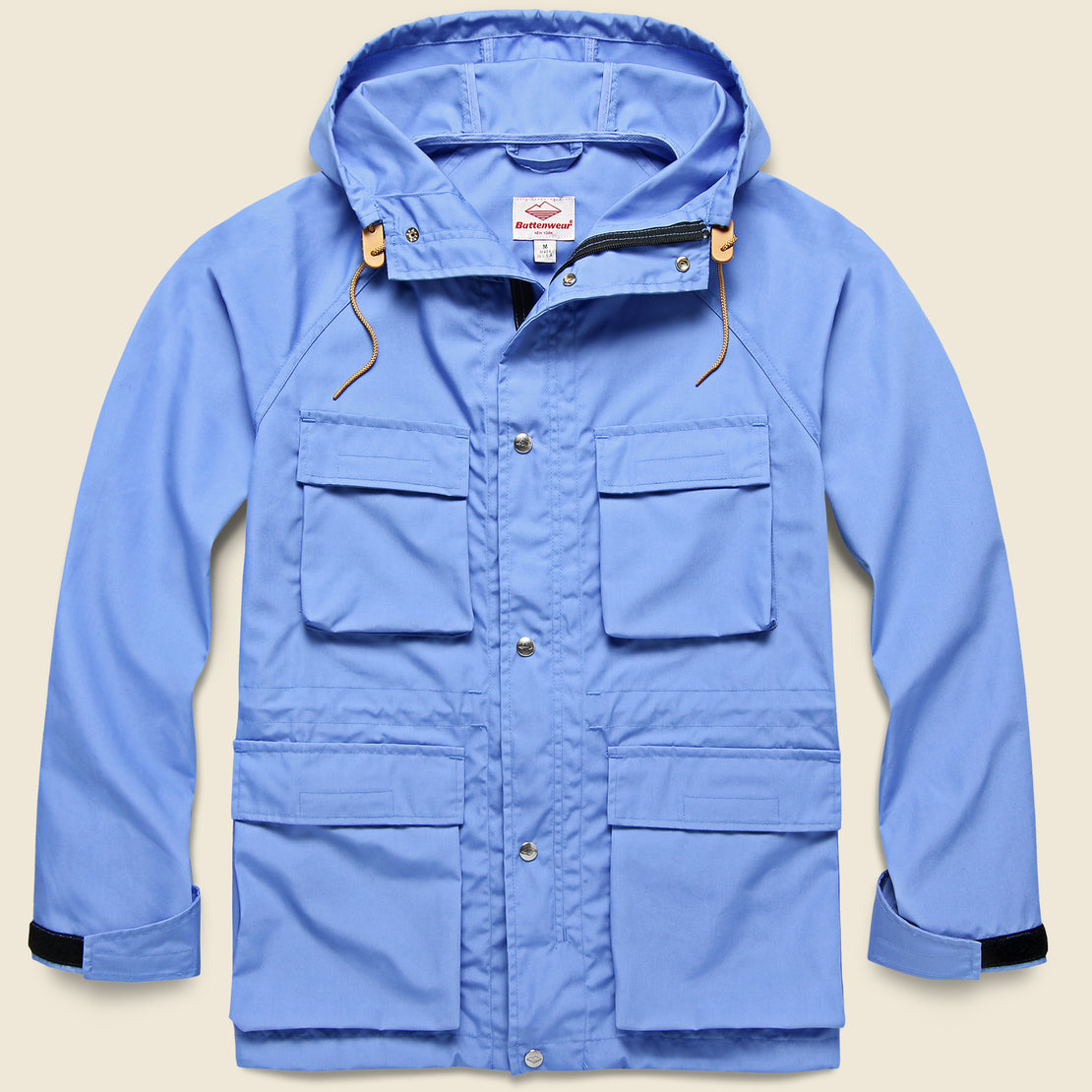 Battenwear Light Shell Parka - Candy Blue