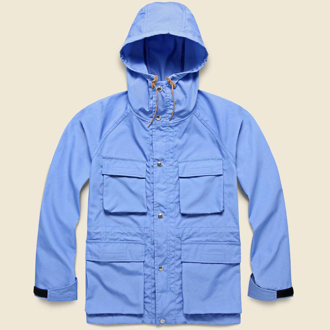 Light Shell Parka - Candy Blue