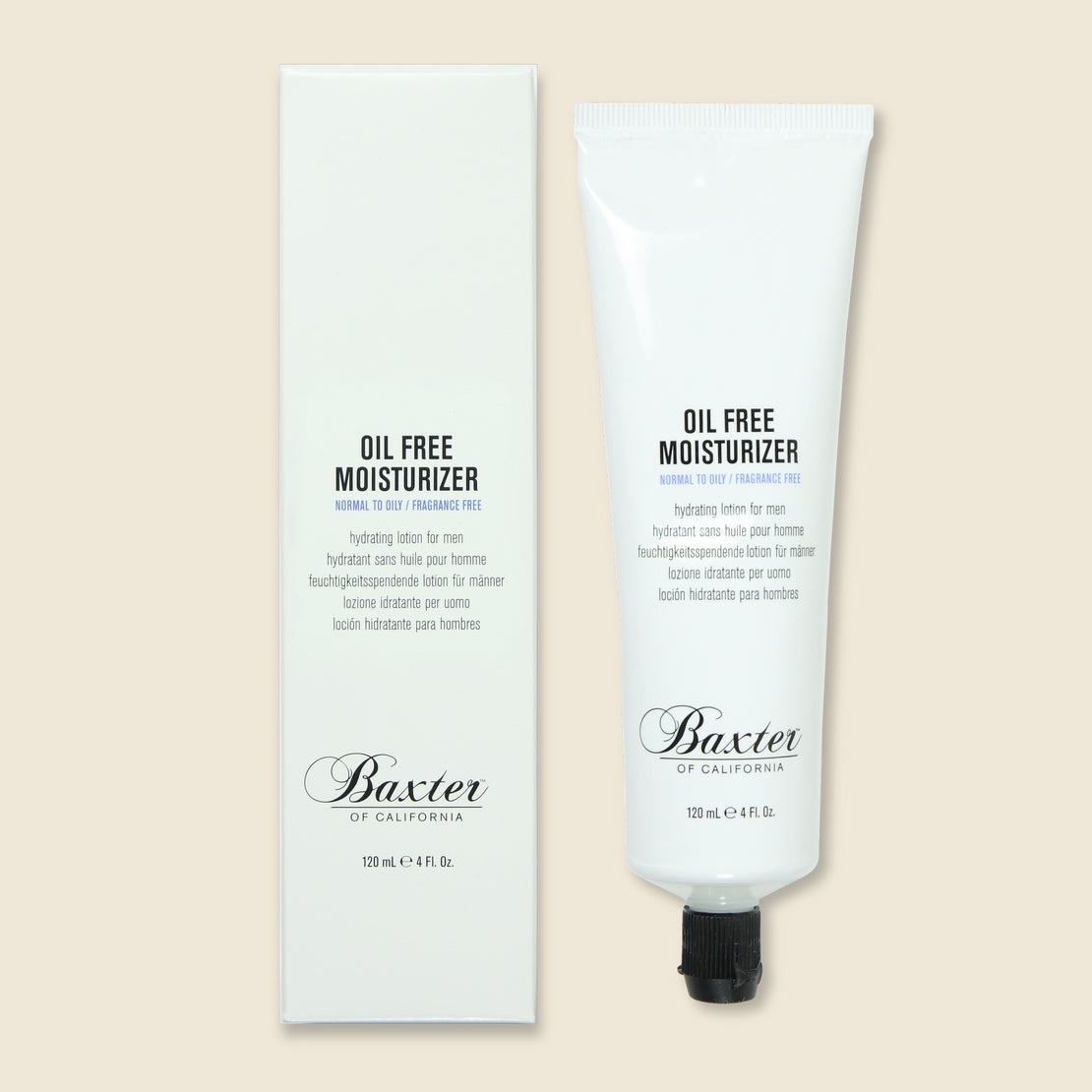 Oil Free Moisturizer - Baxter - STAG Provisions - Chemist - Face Moisturizer