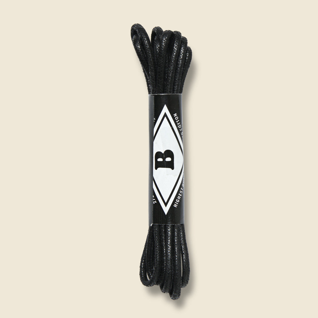 "Benjo's 27"" Waxed Cord Laces - Matchlight"
