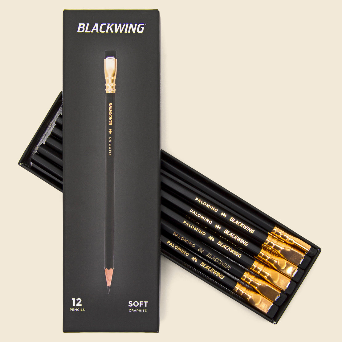 Paper Goods Blackwing Pencils - Black & Gold