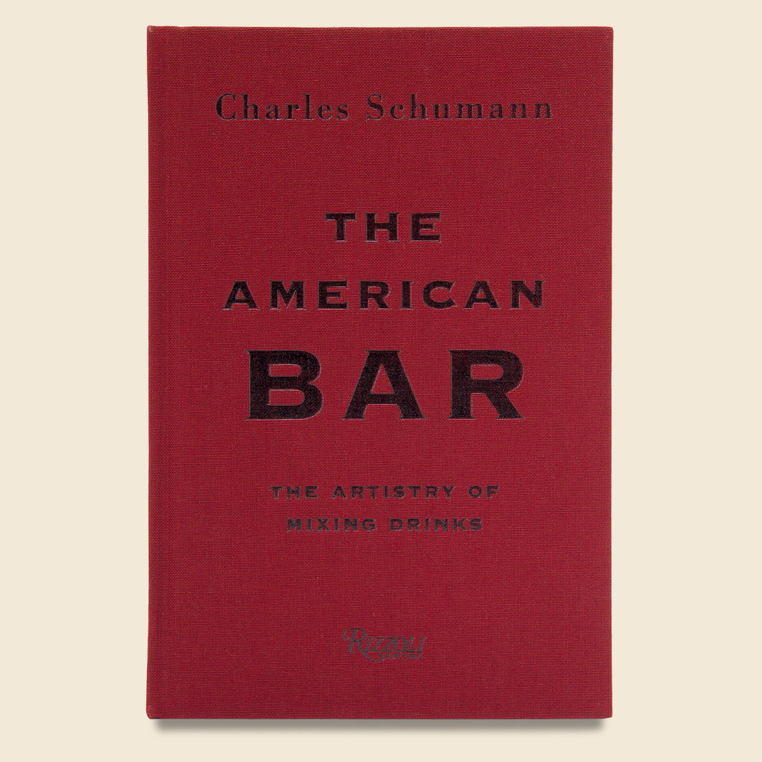 Bookstore The American Bar: The Artistry of Mixing Drinks - Charles Schumann