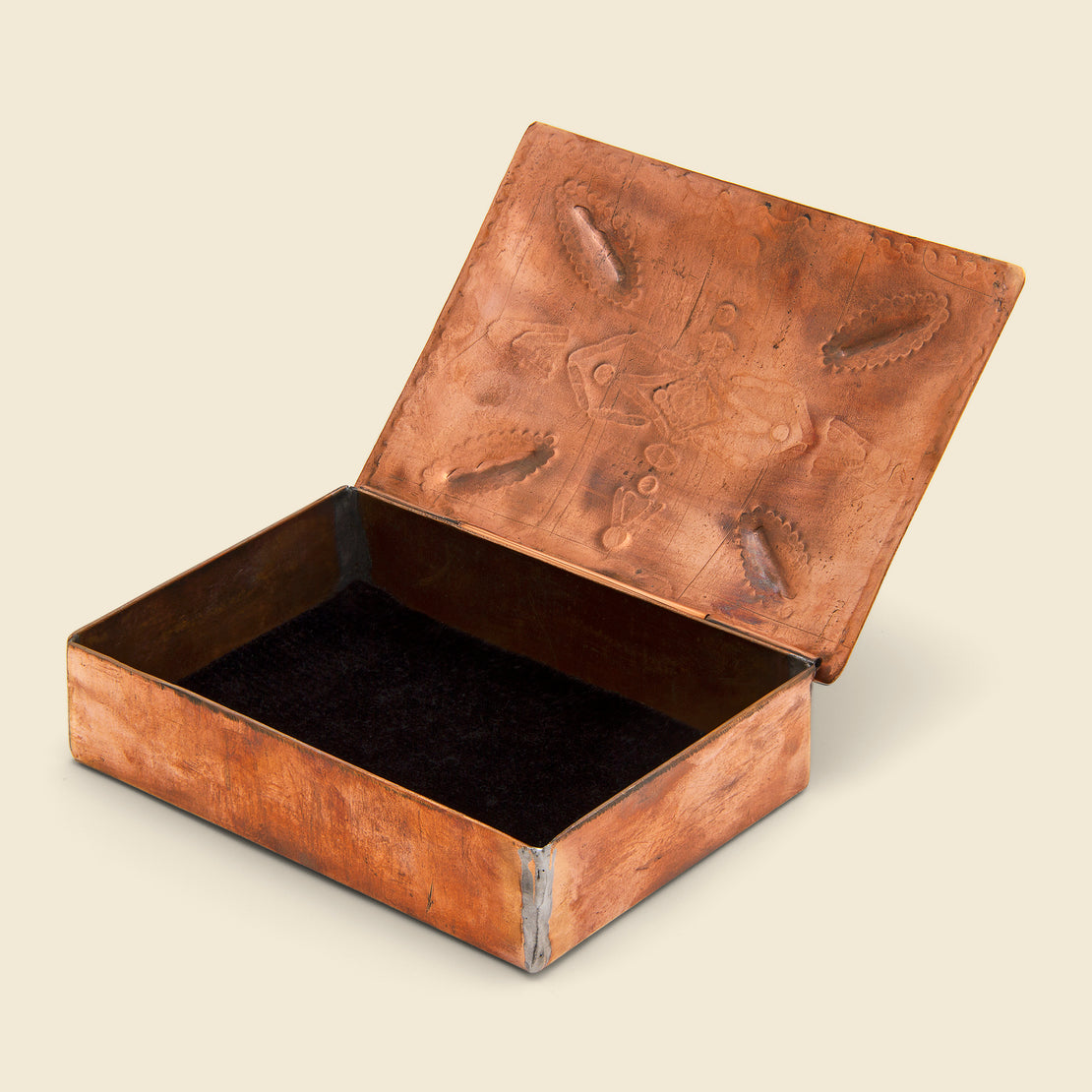 Vintage Style Box - Copper