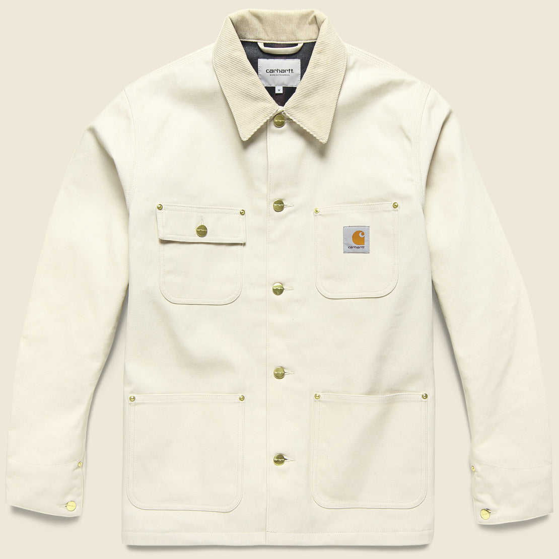 Carhartt WIP Michigan Chore Coat - Oats