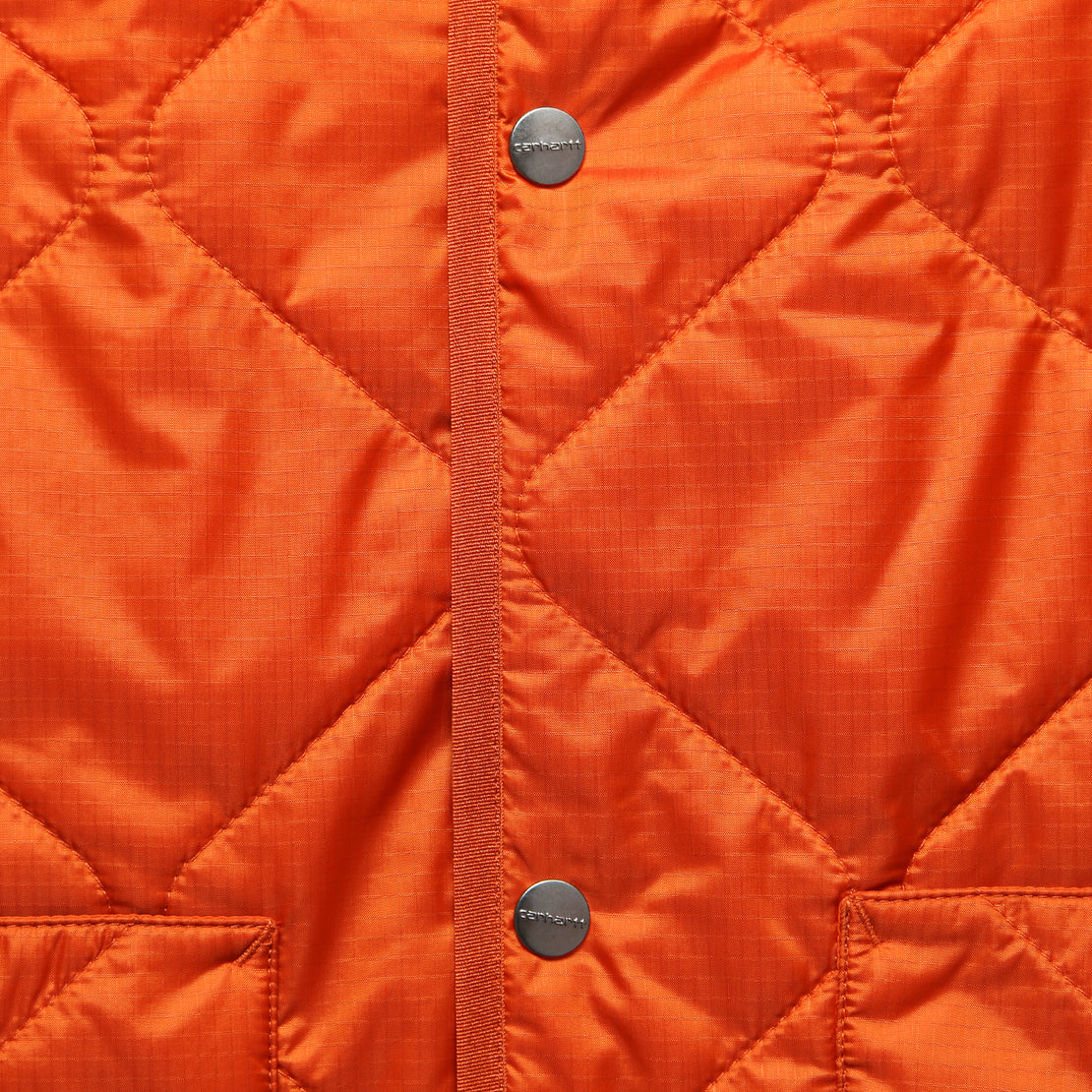 Jane Jacket Liner - Persimmon