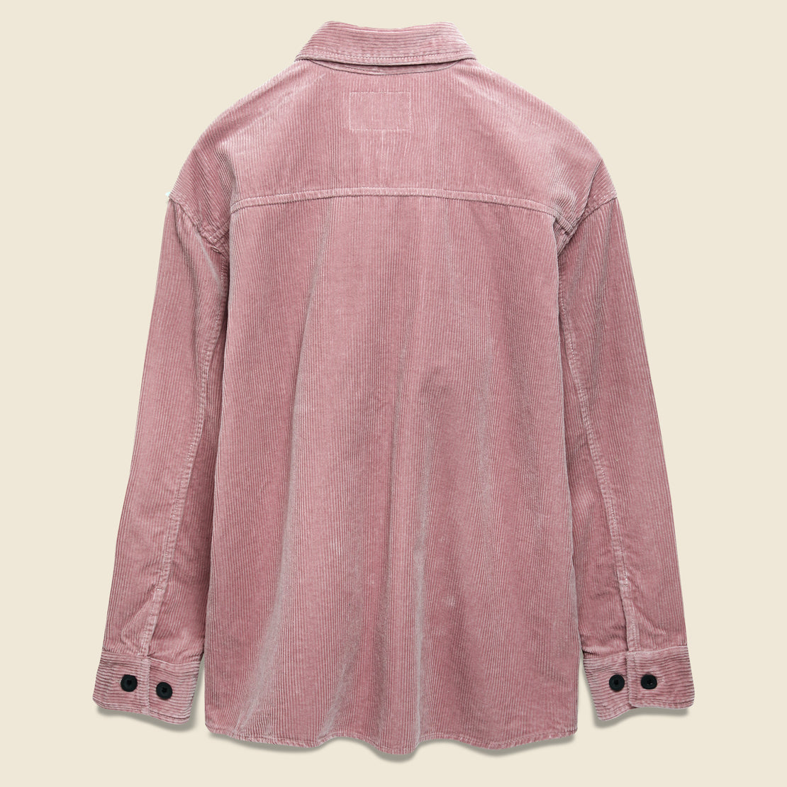 Erie Shirt Jacket - Blush