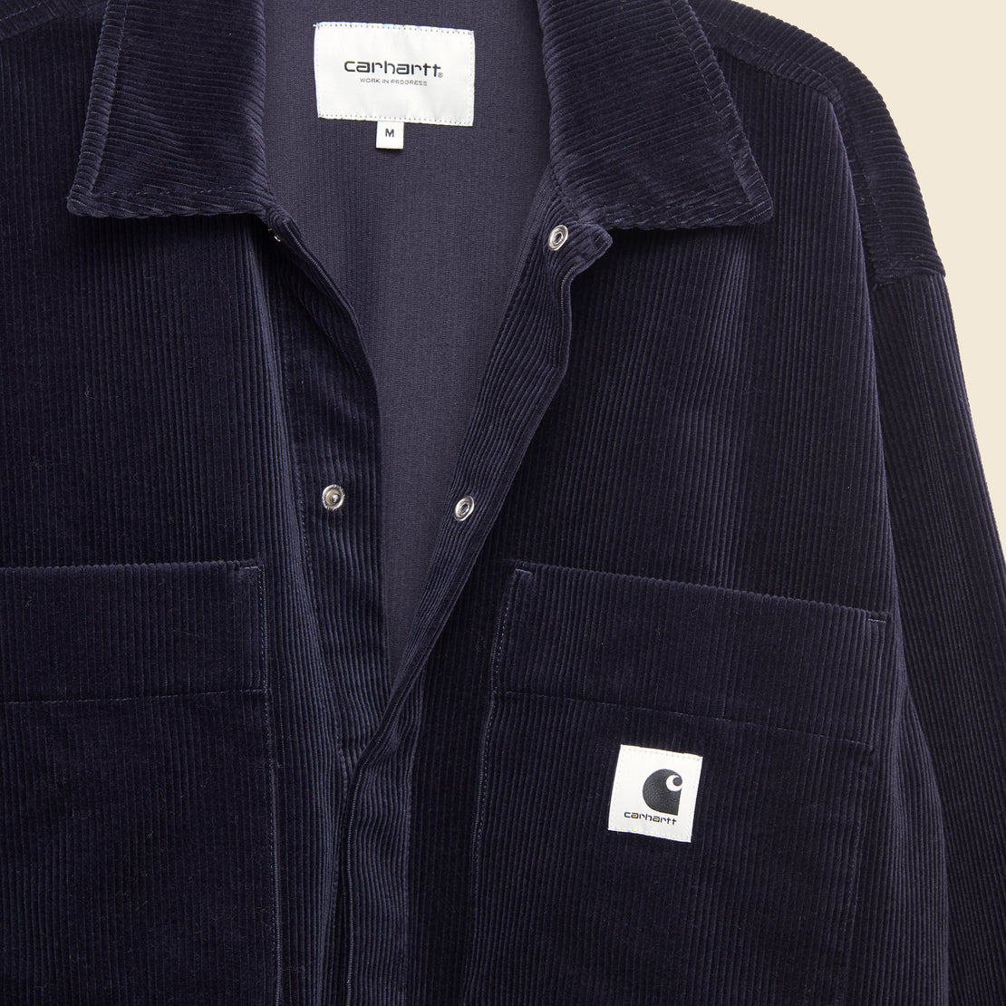 Foya Shirt Jacket - Dark Navy