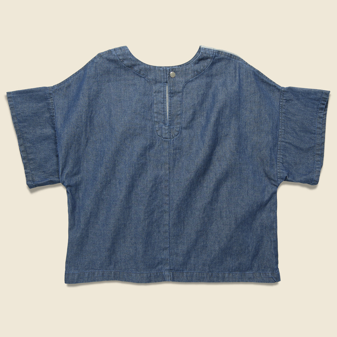 Web Denim Shirt - Blue Two-Tone