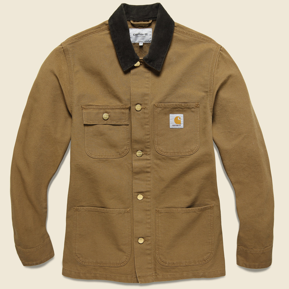 Carhartt WIP Michigan Chore Coat - Hamilton Brown/Tobacco