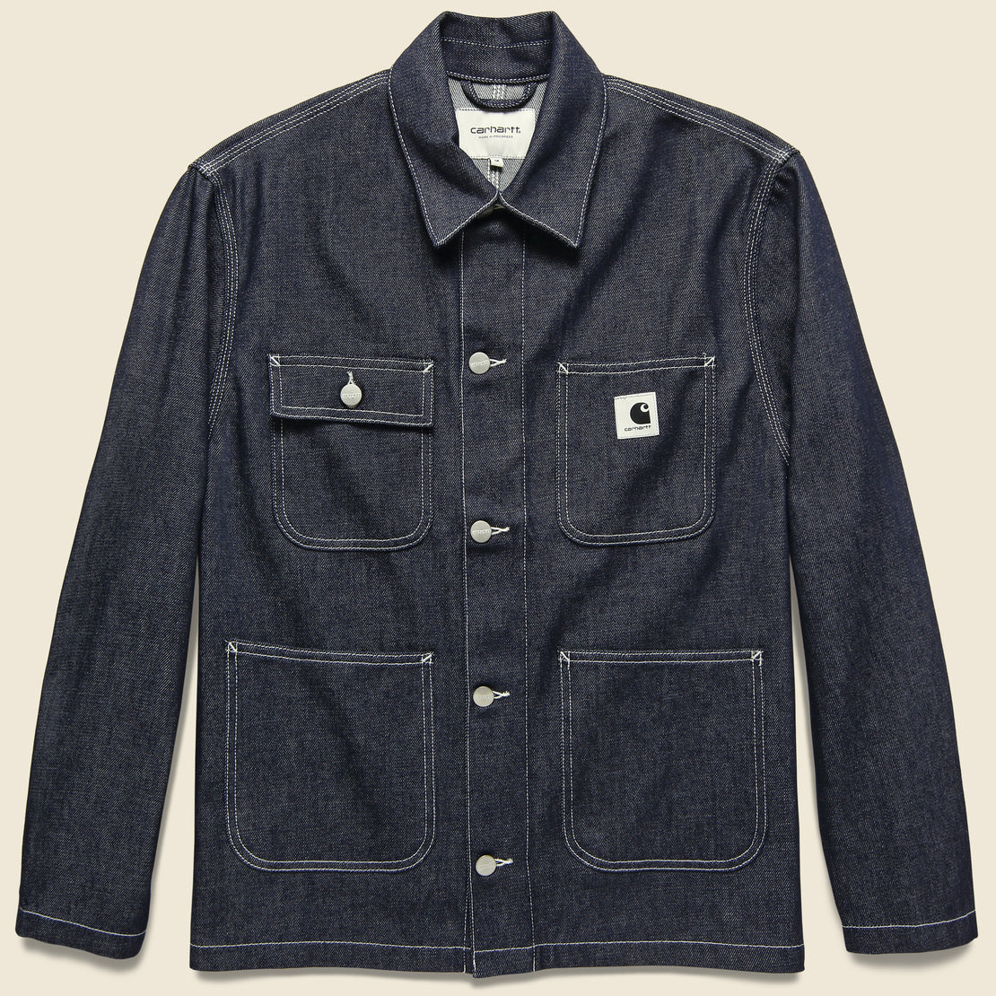 Carhartt WIP Michigan Chore Coat - Blue