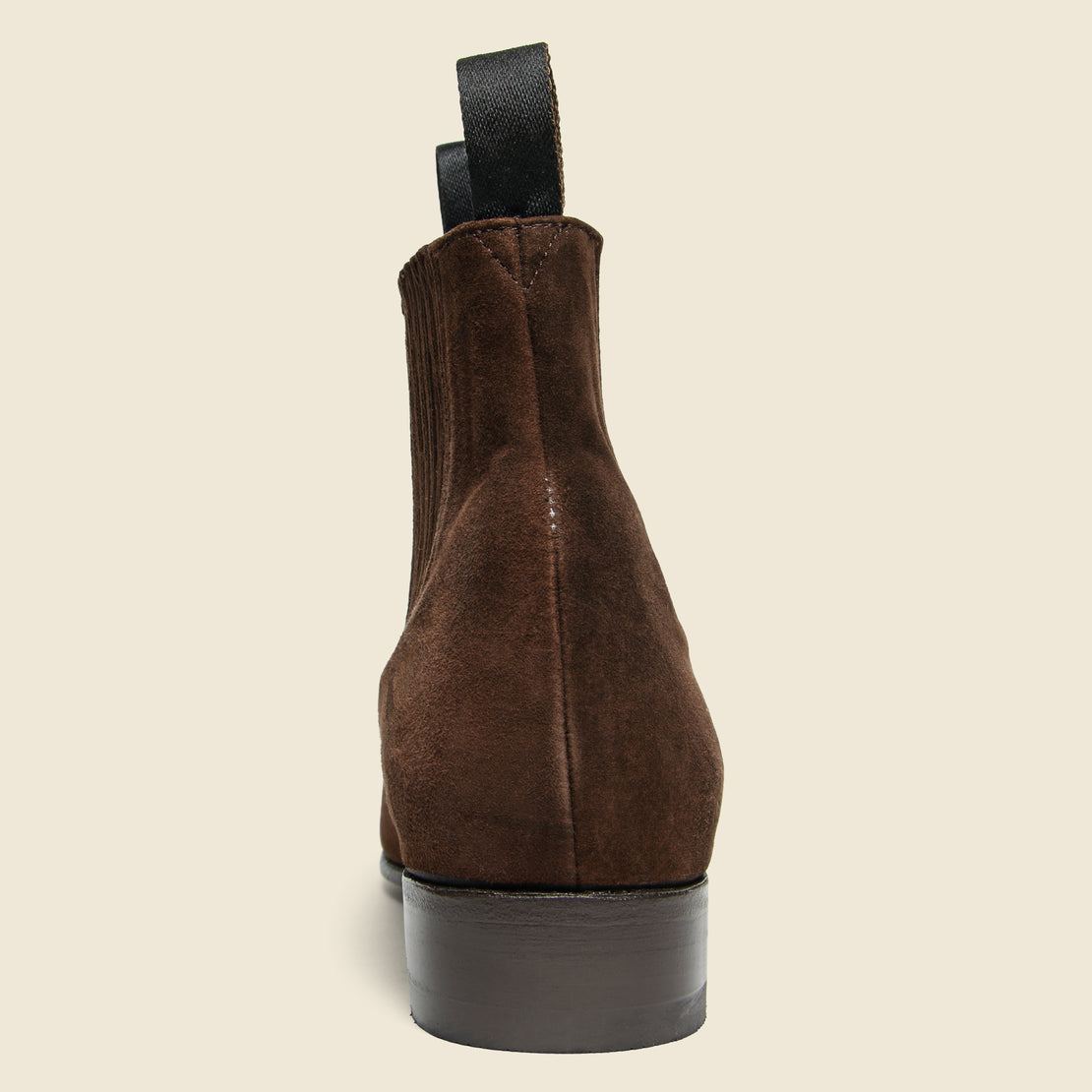 Botin Charro Chelsea Boot - Brown Suede