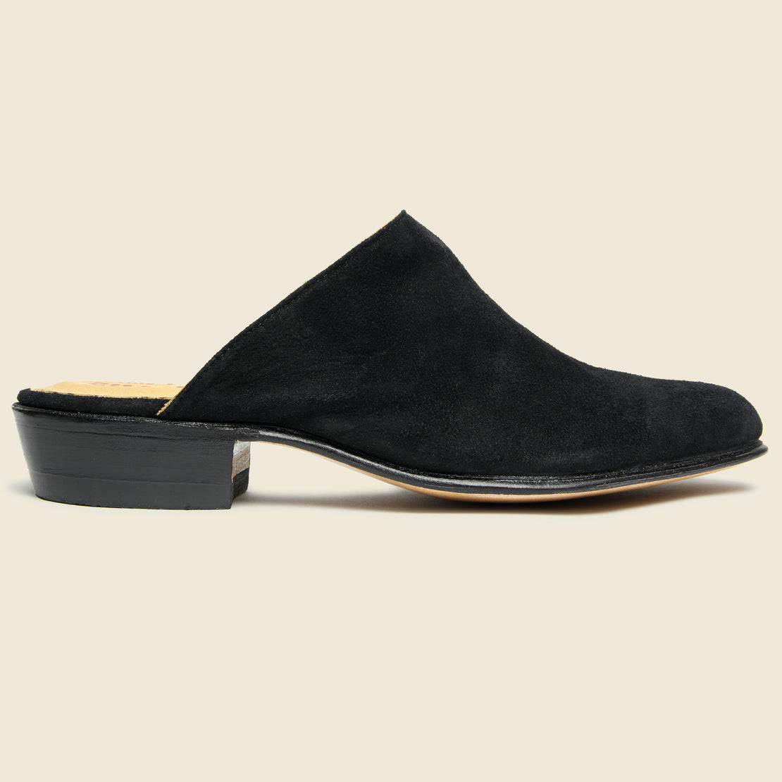 Chamula Sueco Slip On Mule - Black