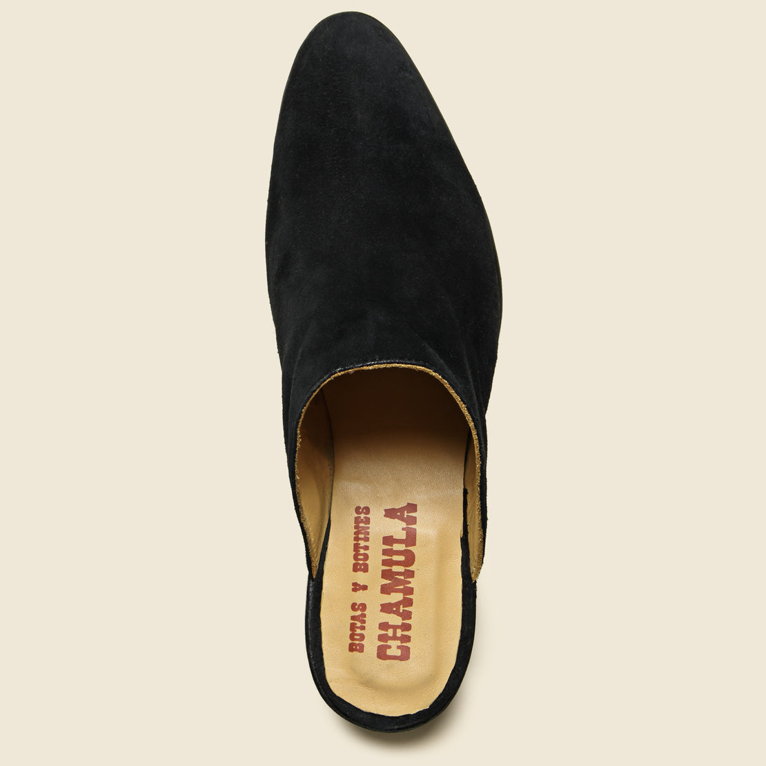 Sueco Slip On Mule - Black
