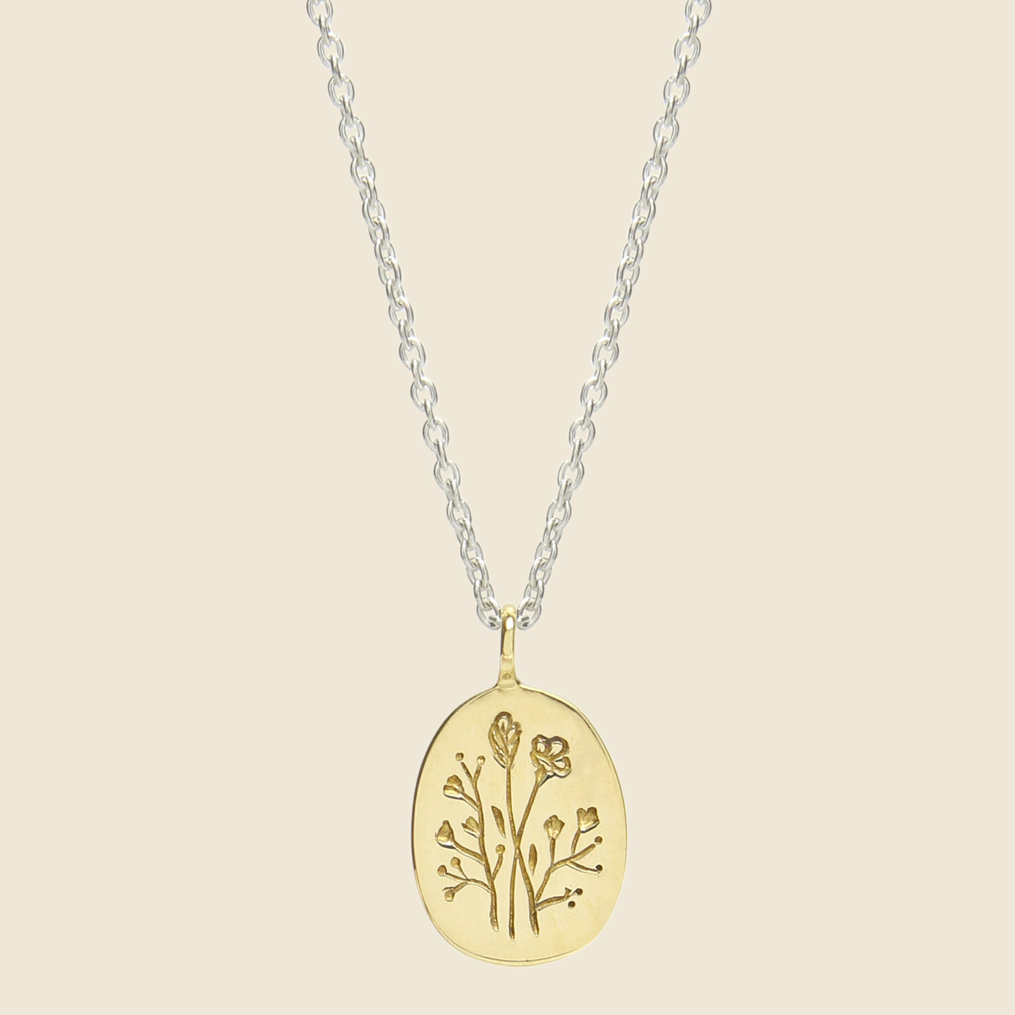 Lux Accessories Be The Change You Wish to See in The World Pendant Necklace