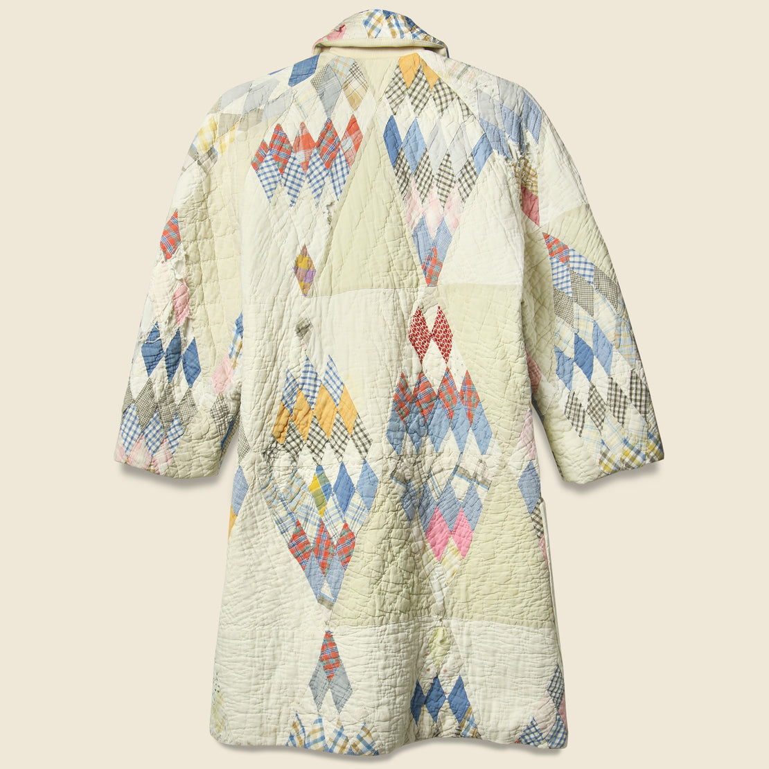 Quilt Coat - White Diamond