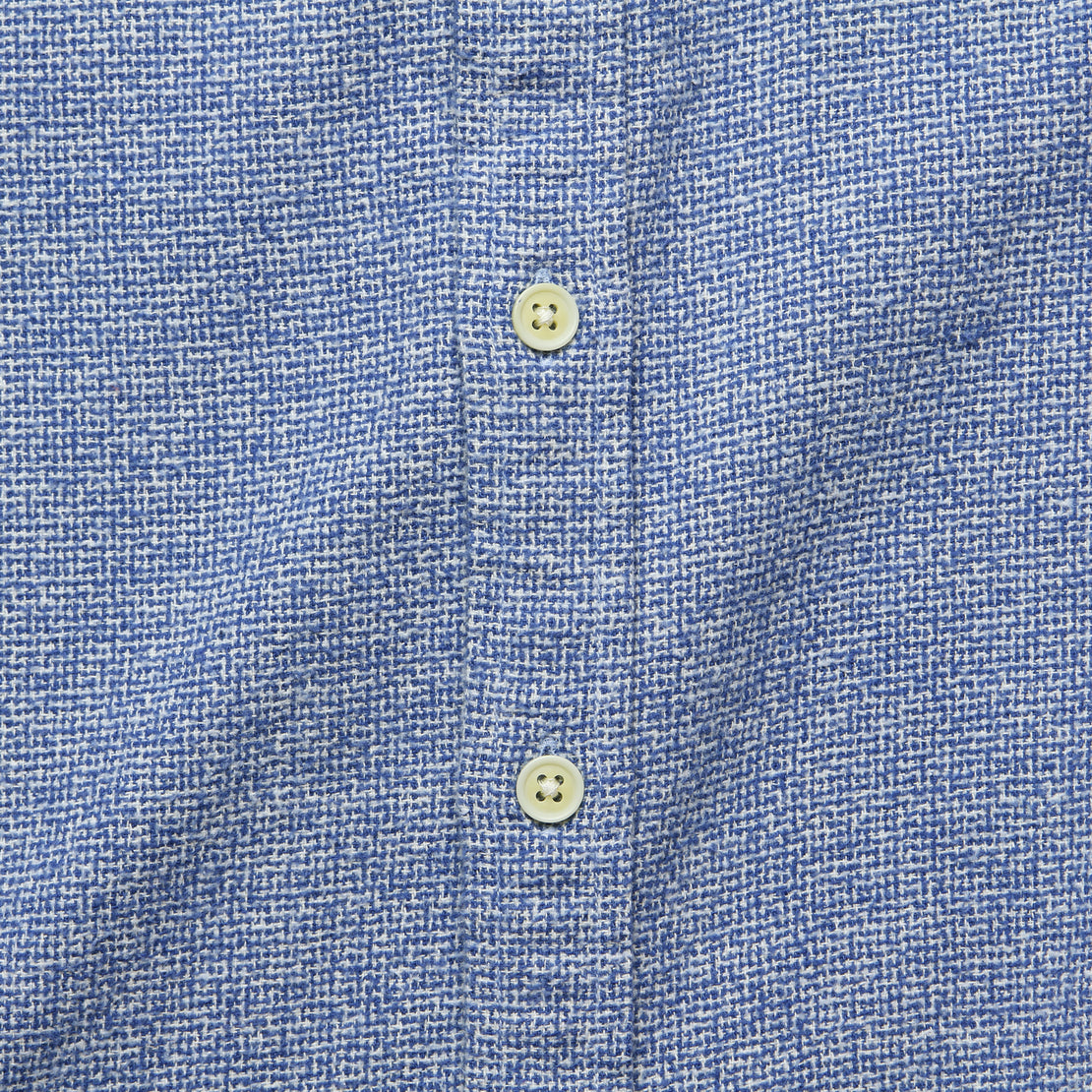 Speckled Flannel - Blue