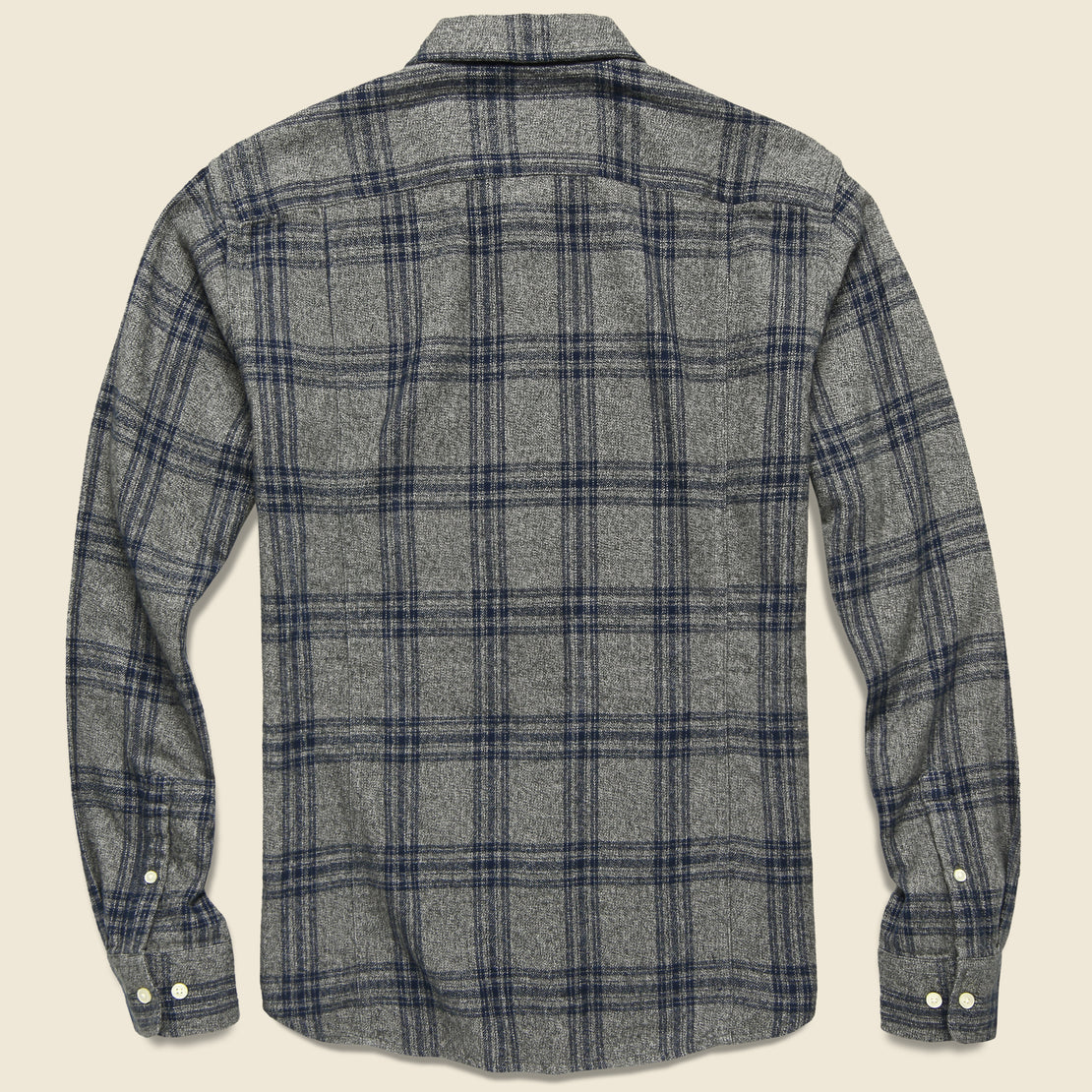 Check Flannel - Grey