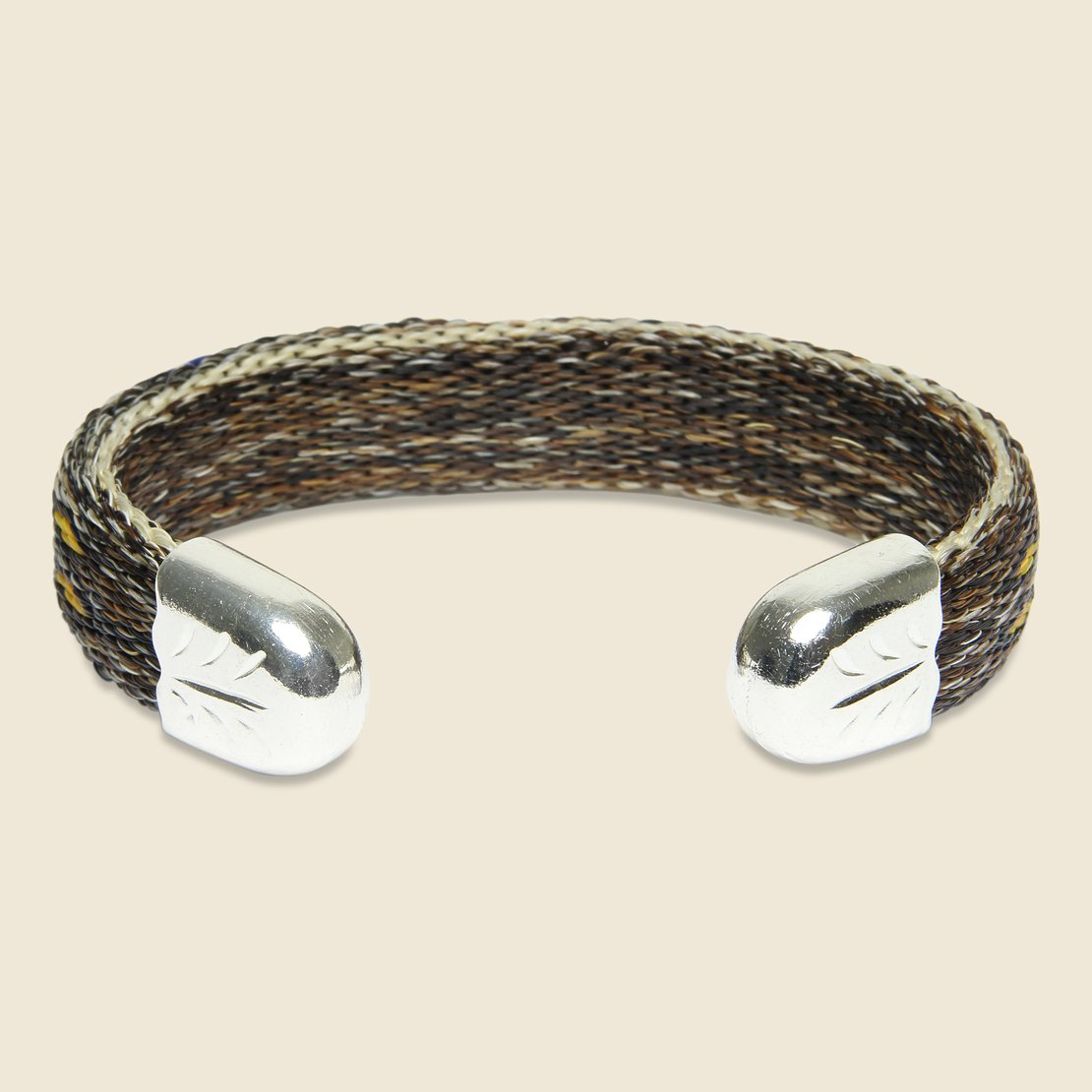 Bendable Horsehair Bracelet - Brown/Multi