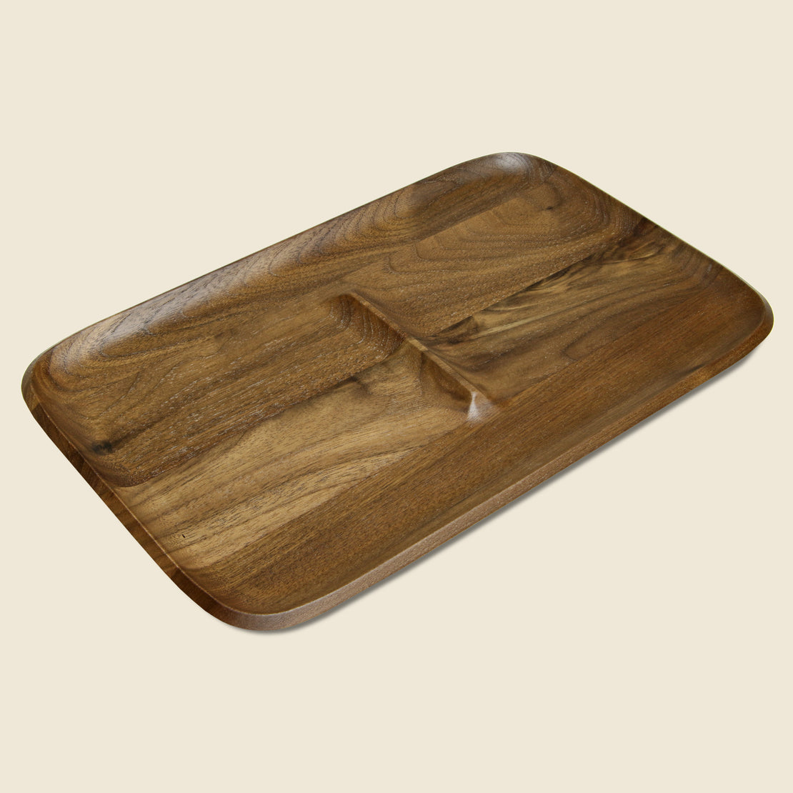 Craighill Large Catch Tray - Walnut