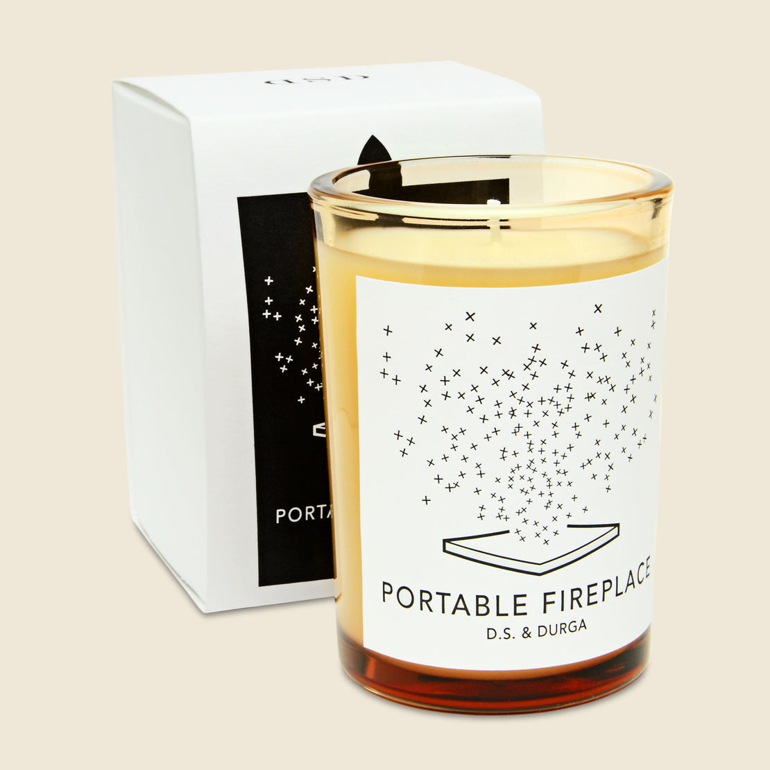 D.S. & Durga Candle - Portable Fireplace