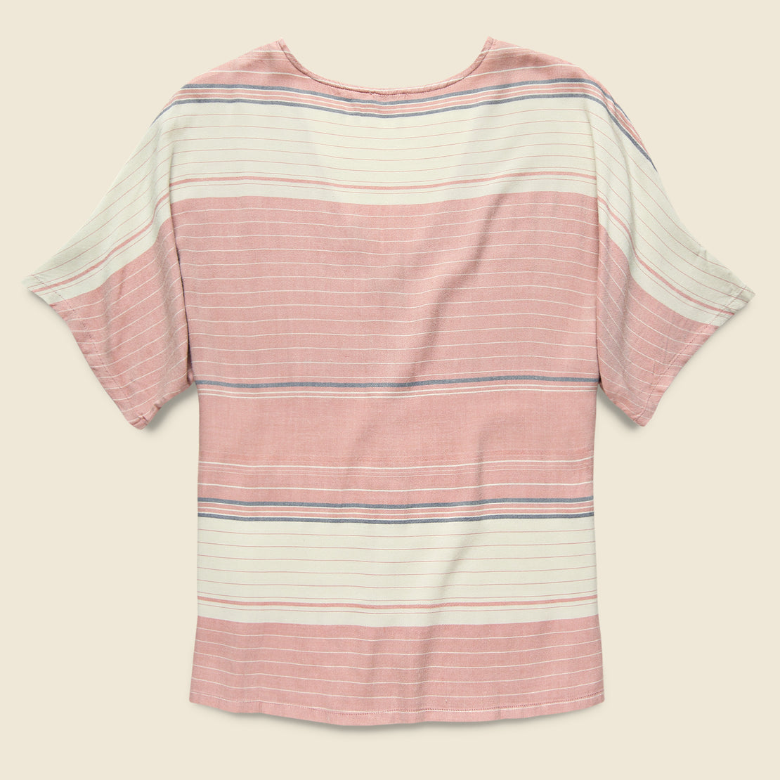 Analeigh Top - Rosewood Stripe