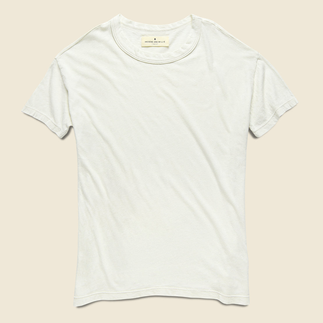 Imogene + Willie Drop Tee - White