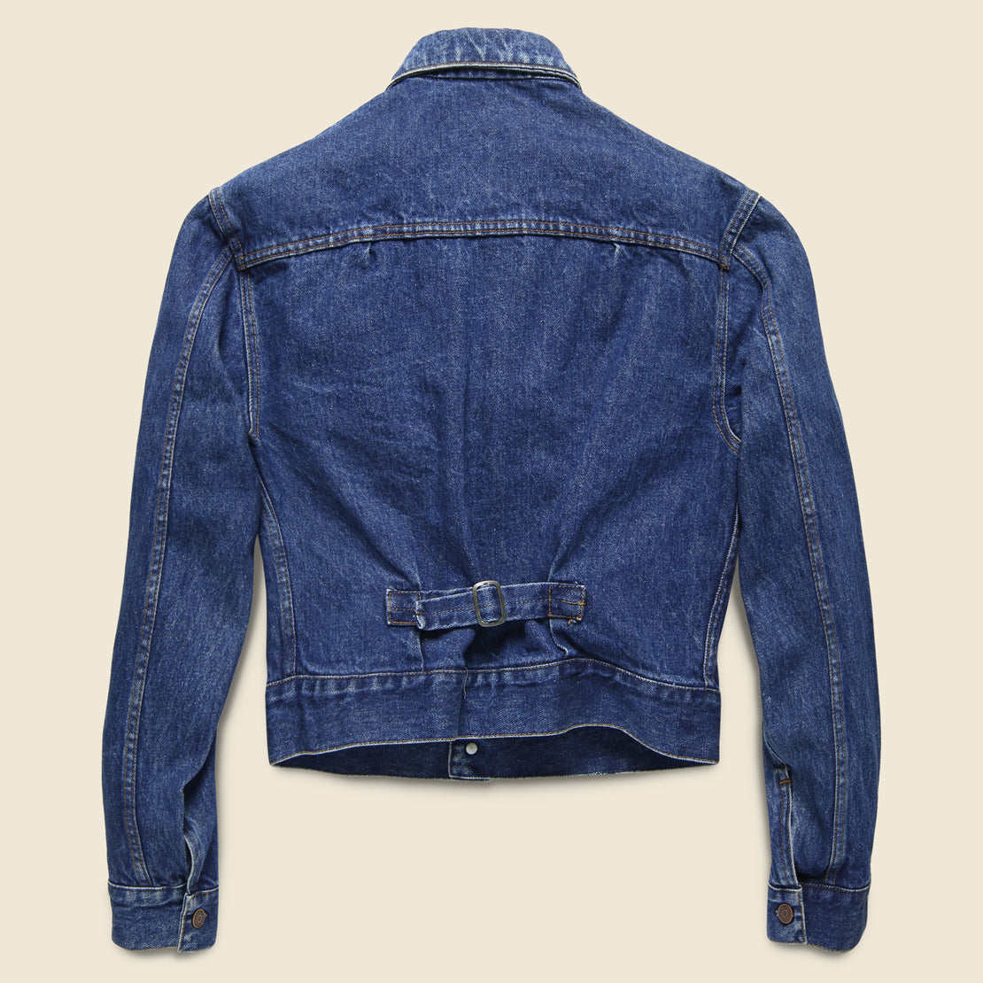 Ralph Lauren Buckle Back Denim Jacket - Indigo