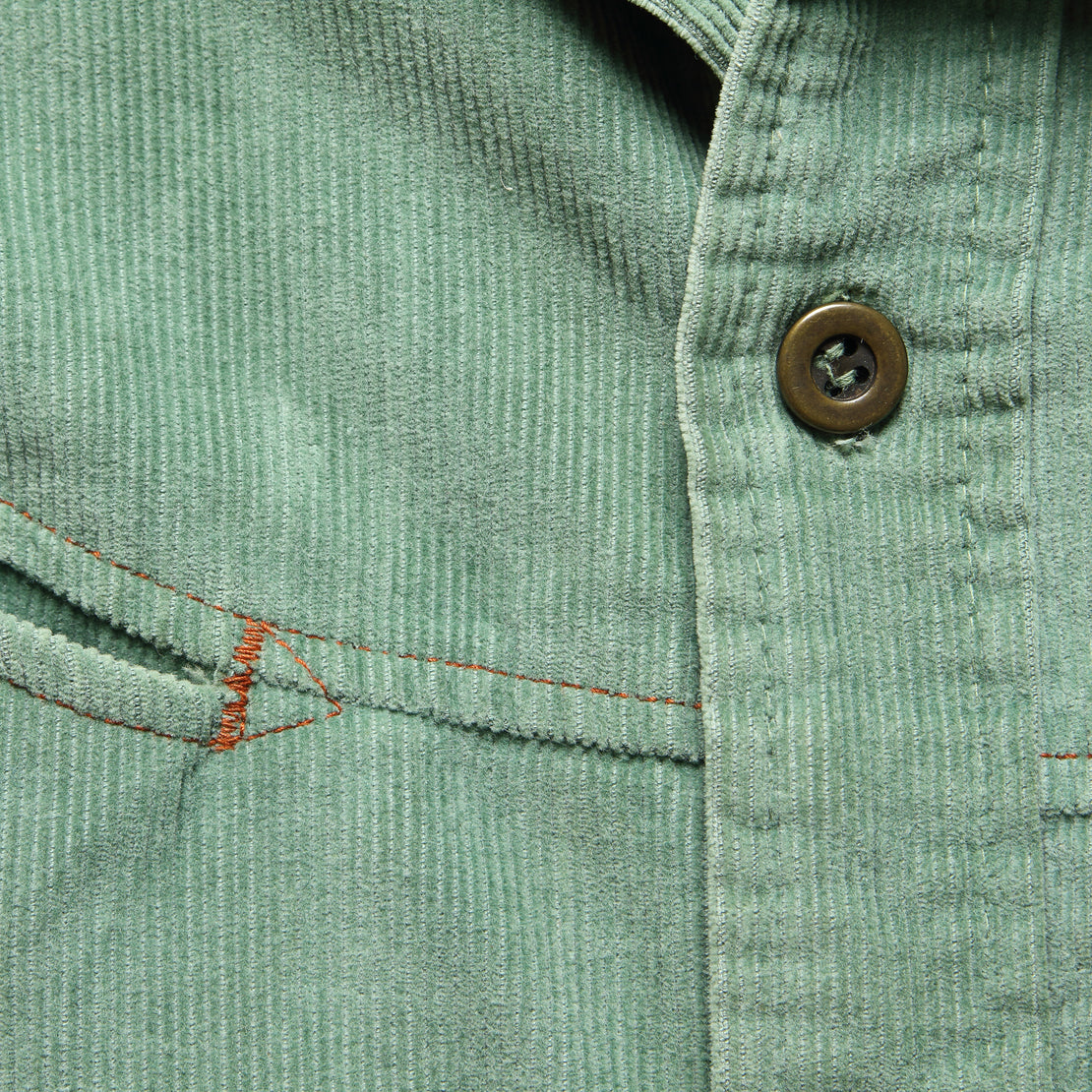 1970s Levis Micro Cord Jacket - Sage