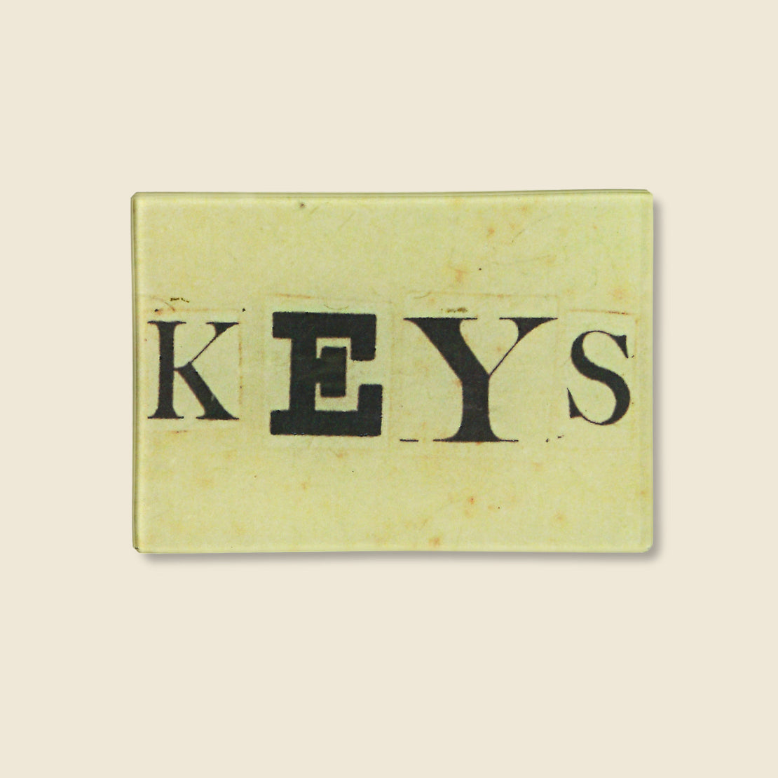 John Derian Rectangle Tray - Keys