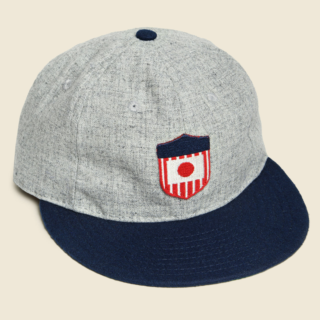 Ebbets Field Flannels U.S. Tour of Japan Hat - Grey